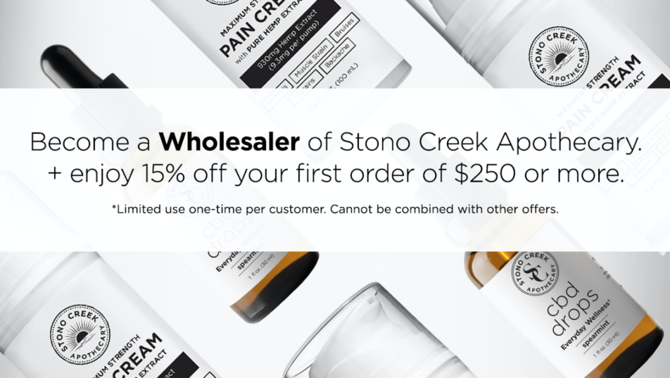 Photo of products // Become a Wholesaler of Stono Creek Apothecary